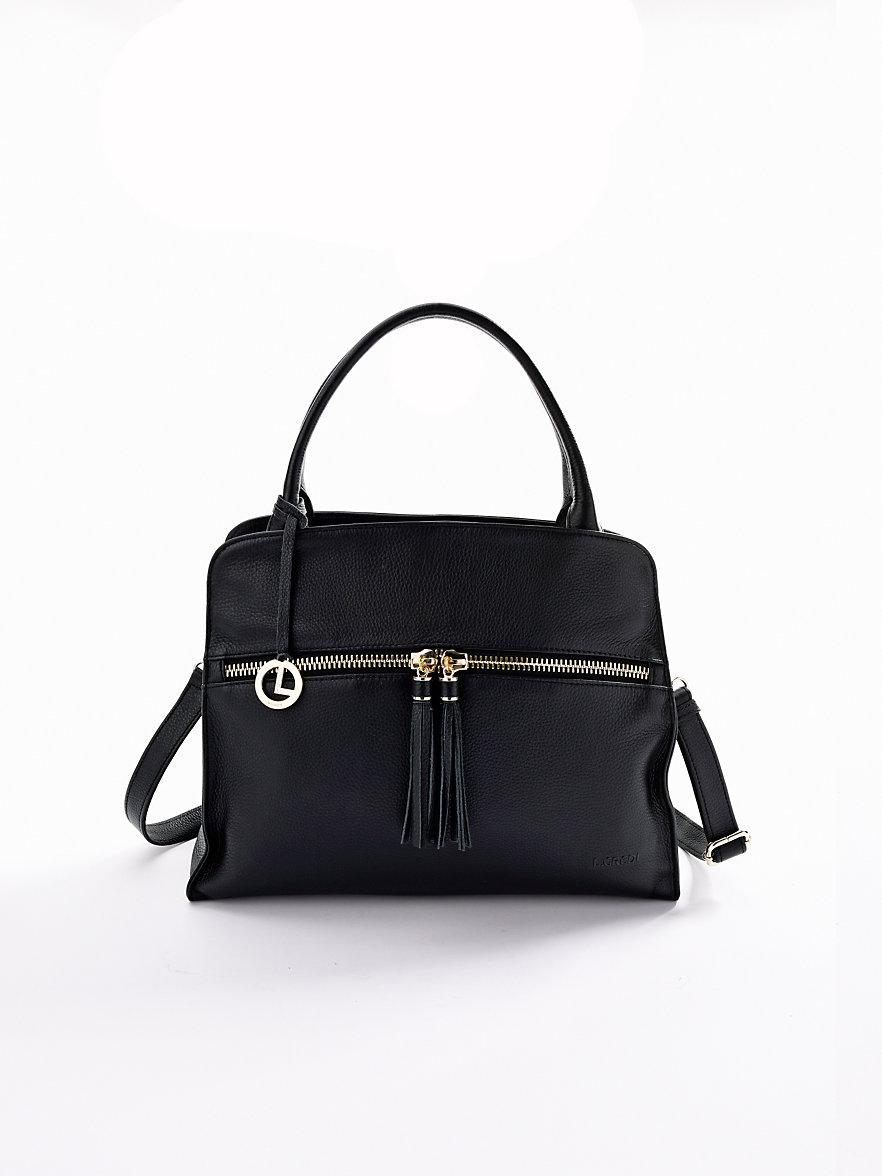 Musta Laukku Niiteillä : L credi laukku musta